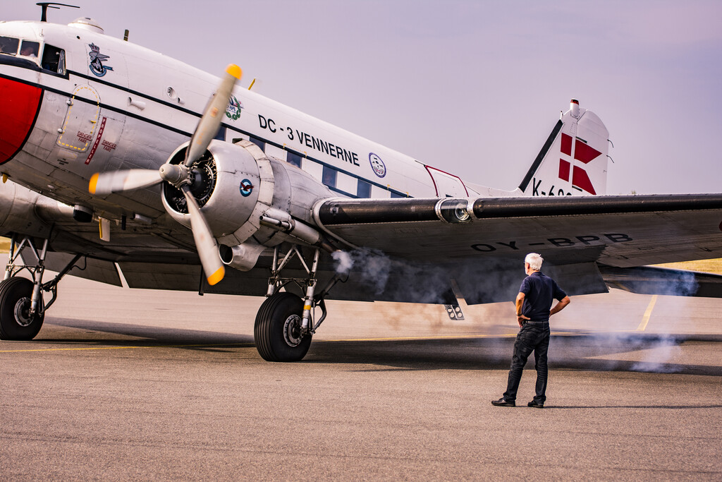 Start-up of the DC3